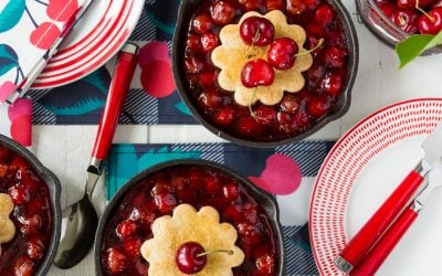 National Cherry Cobbler Day with Draper James!