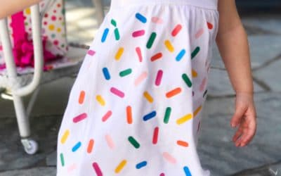 DIY Sprinkle Party Dress