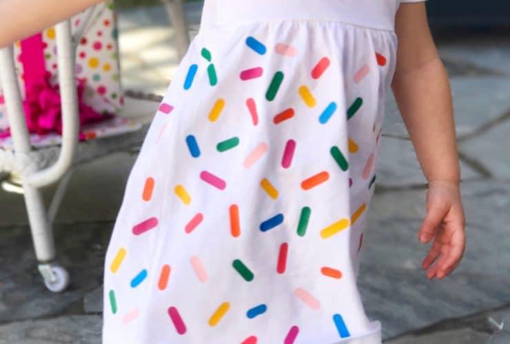 DIY Sprinkle Party Dress