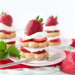 Strawberry Shortcake Stacks, simple and cute dessert for parties or everyday celebrations!