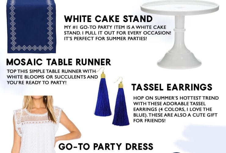Summer Party Must-Haves