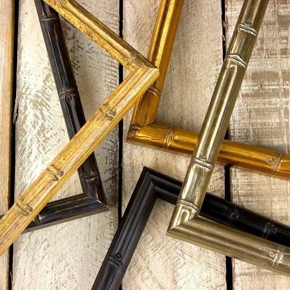Gold Bamboo Frame