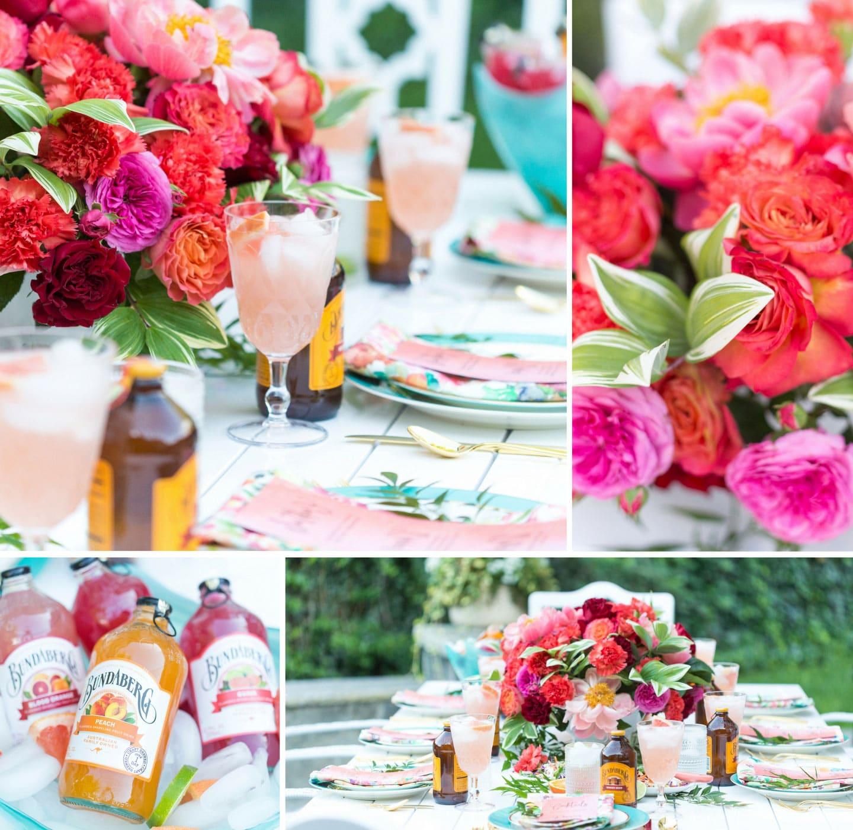 Host a Charming Backyard Summer Party | Pizzazzerie
