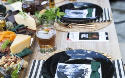 Father's Day Dinner Party / Bourbon & Chocolate Charcuterie