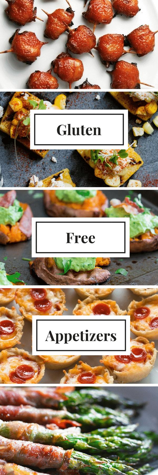 Gluten Free Appetizers | Party-Ready Ideas, Gluten Free Recipes