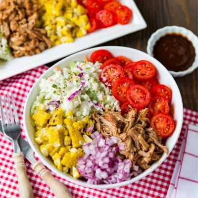 How to create a BBQ Bowl \\ SO GOOD!