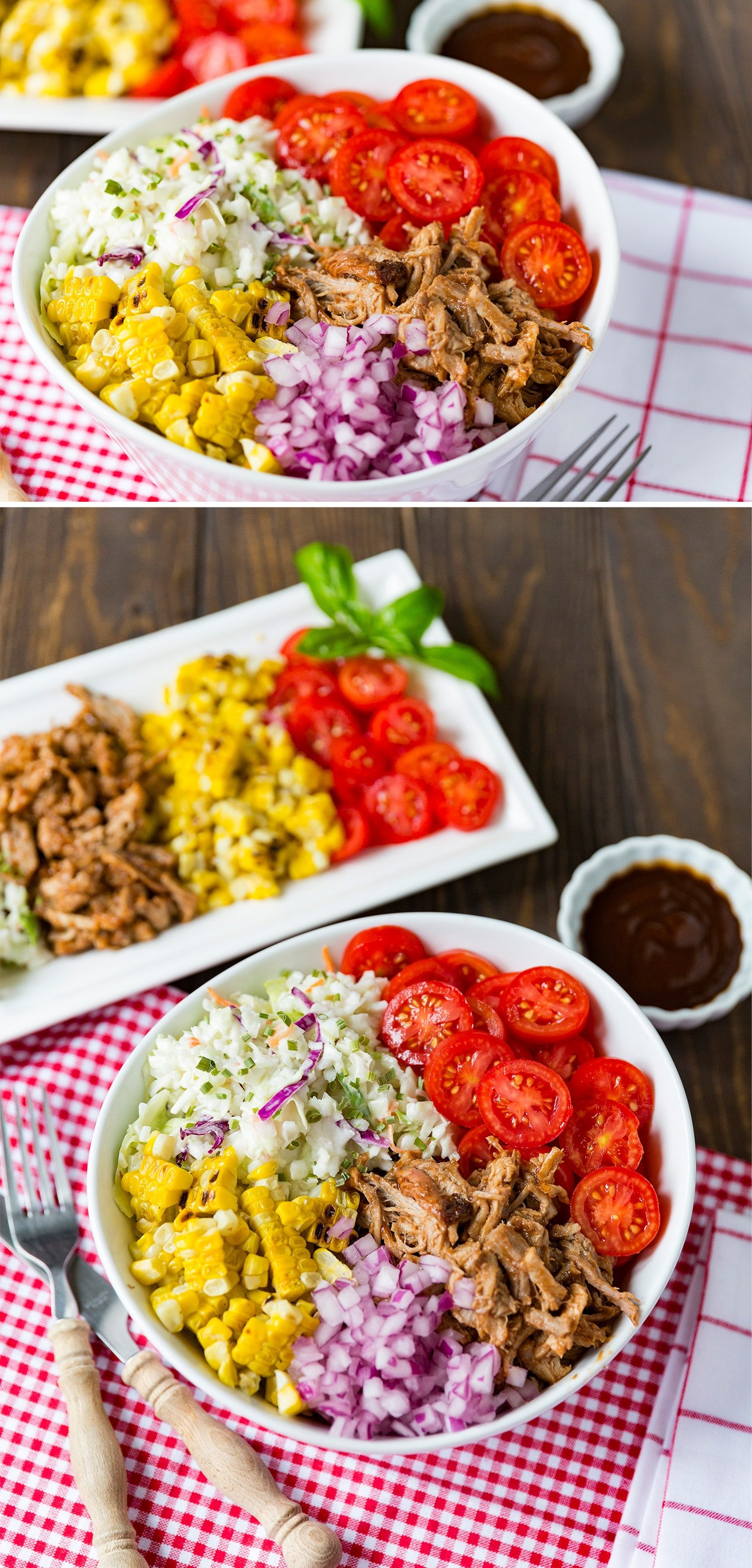 Barbecue Bowl Meal Idea