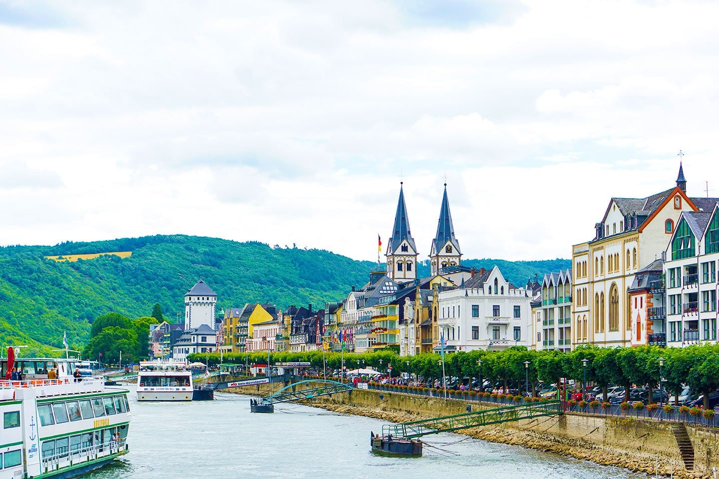 Europe Rhine River Cruise Trip