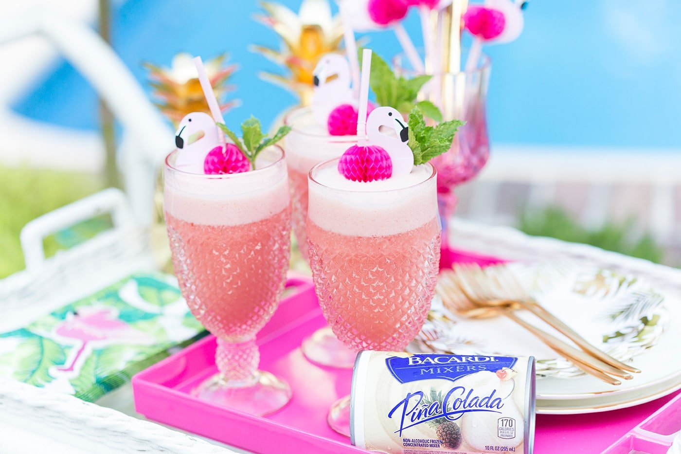 Pink Flamingo Punch Cocktail!