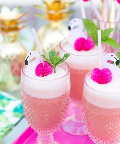 Pink Flamingo Punch Cocktail