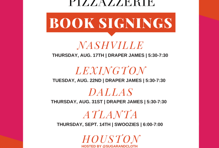 """Pizzazzerie: Entertain in Style"" BOOK TOUR!"