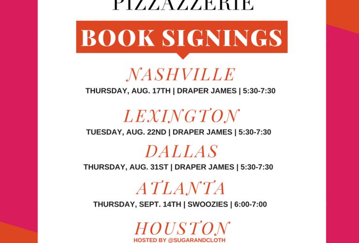 """Pizzazzerie: Entertain in Style"" BOOK TOUR!"