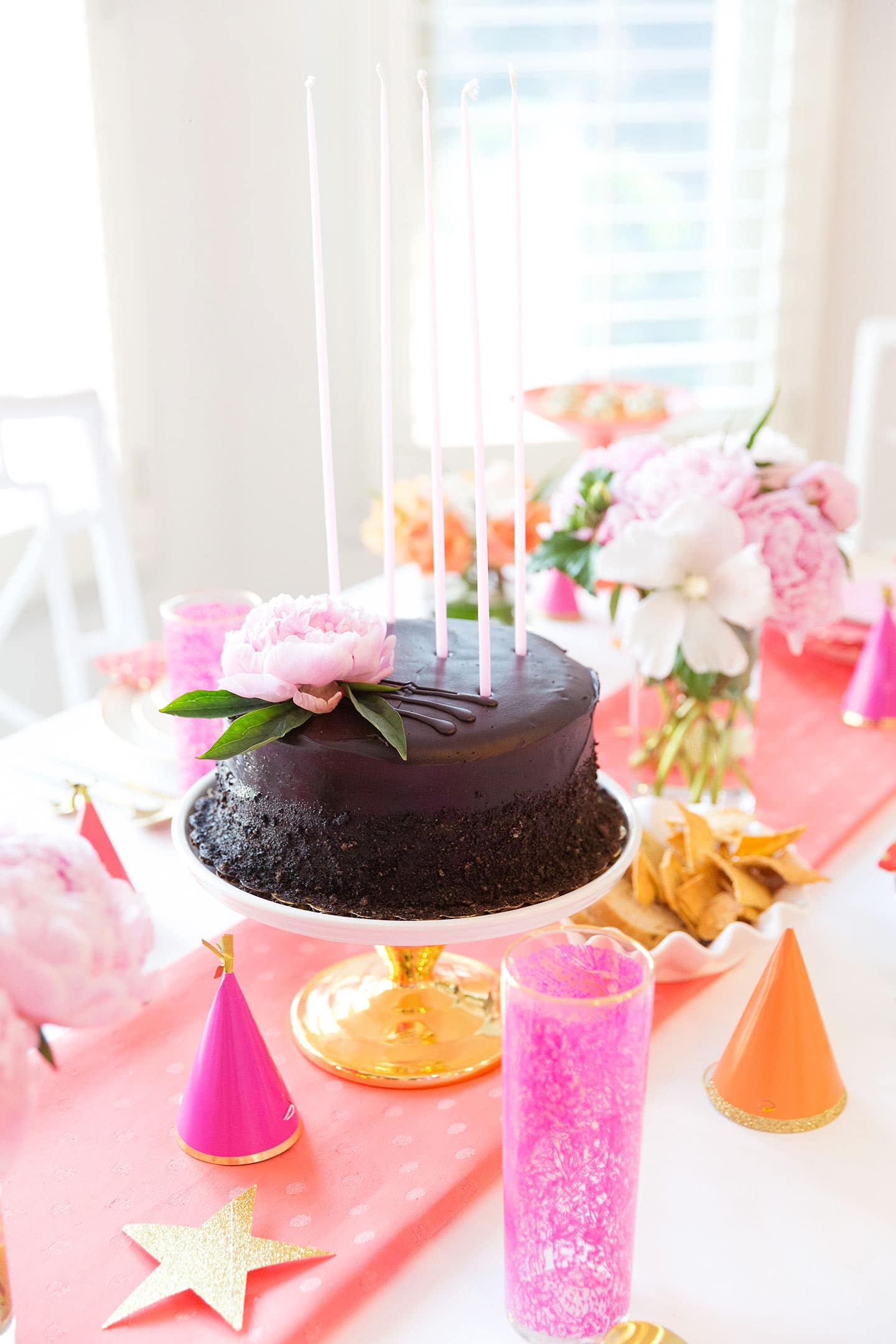 birthday party ideas for adults - from appetizers to dessert