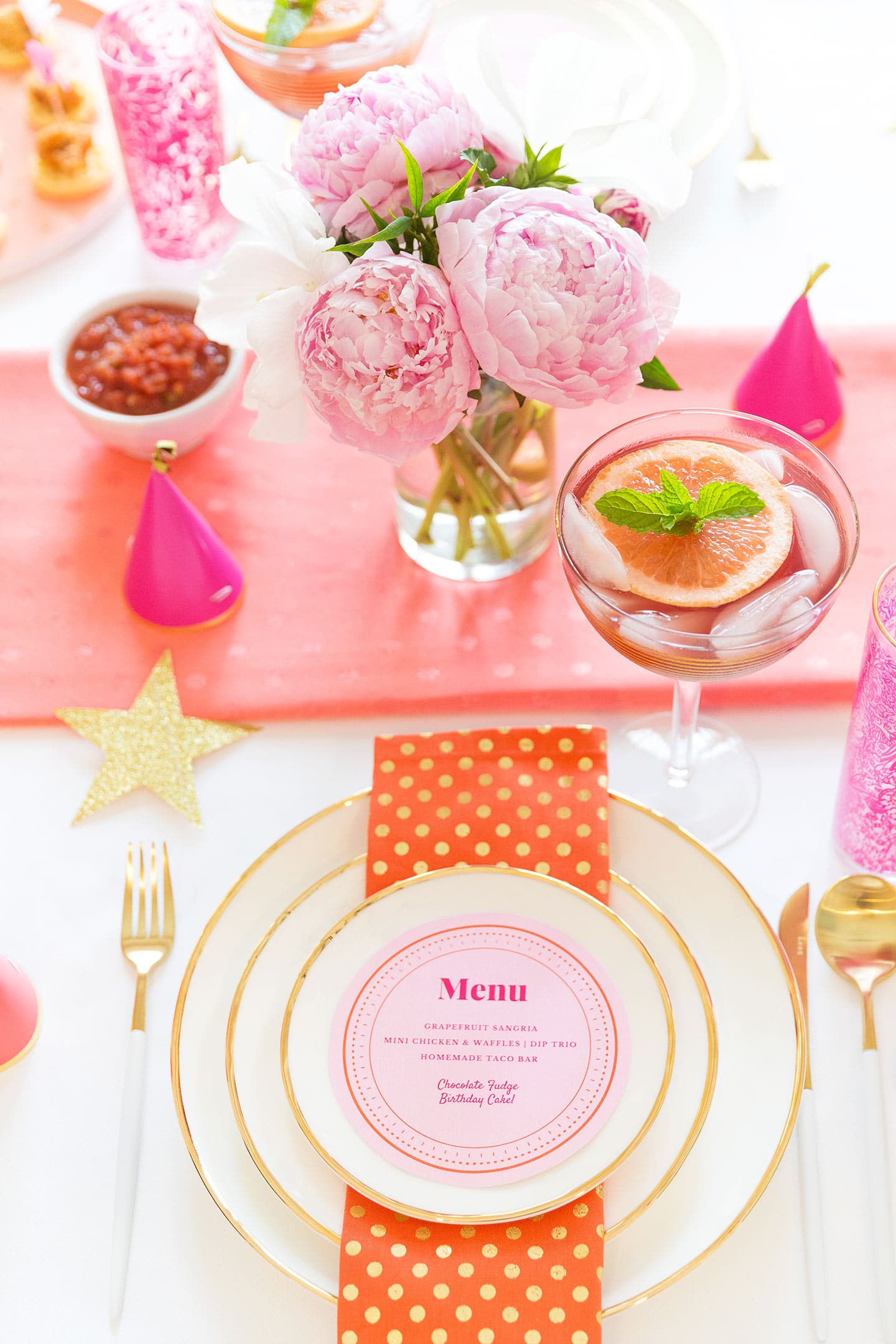 Birthday Party Ideas, Tablescape Tips