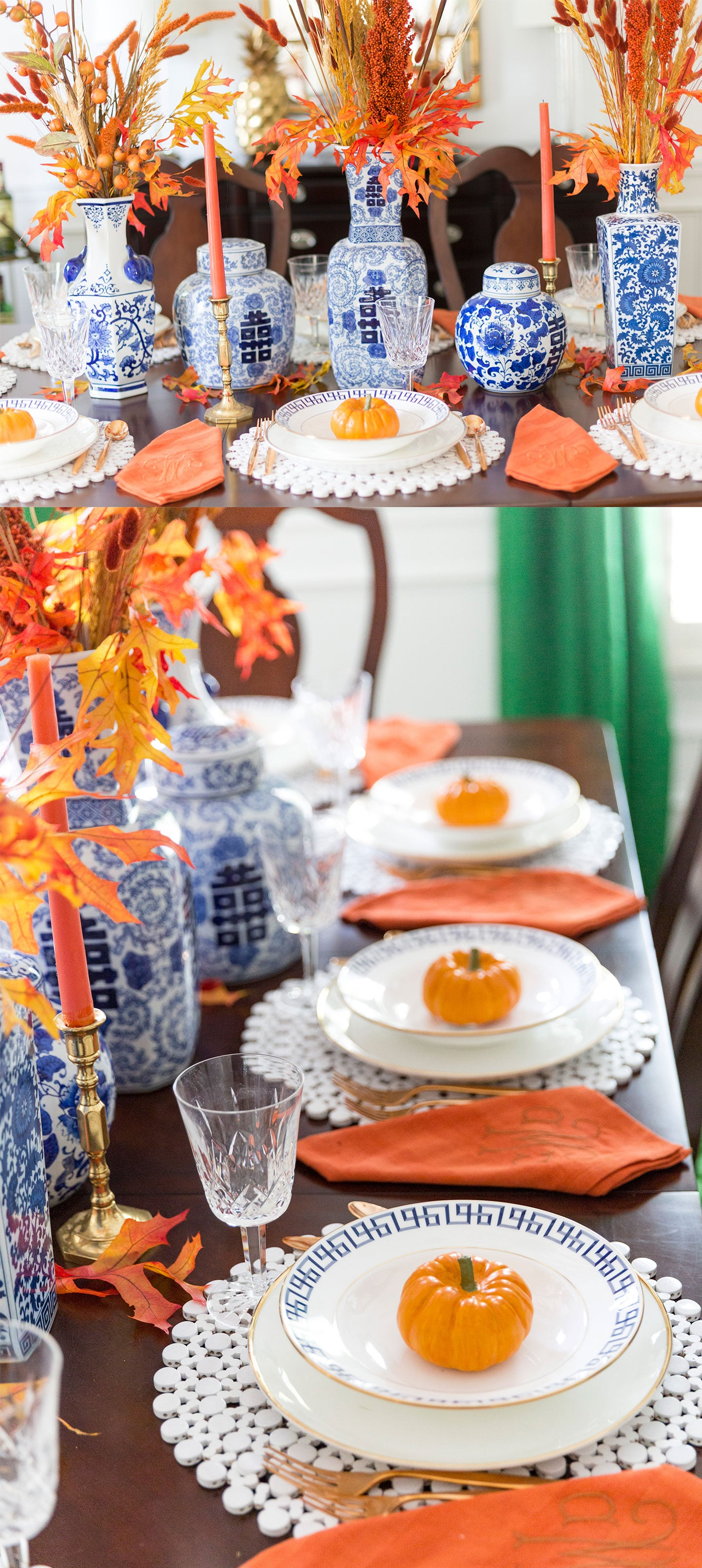 Fall Tablescape from Pizzazzerie