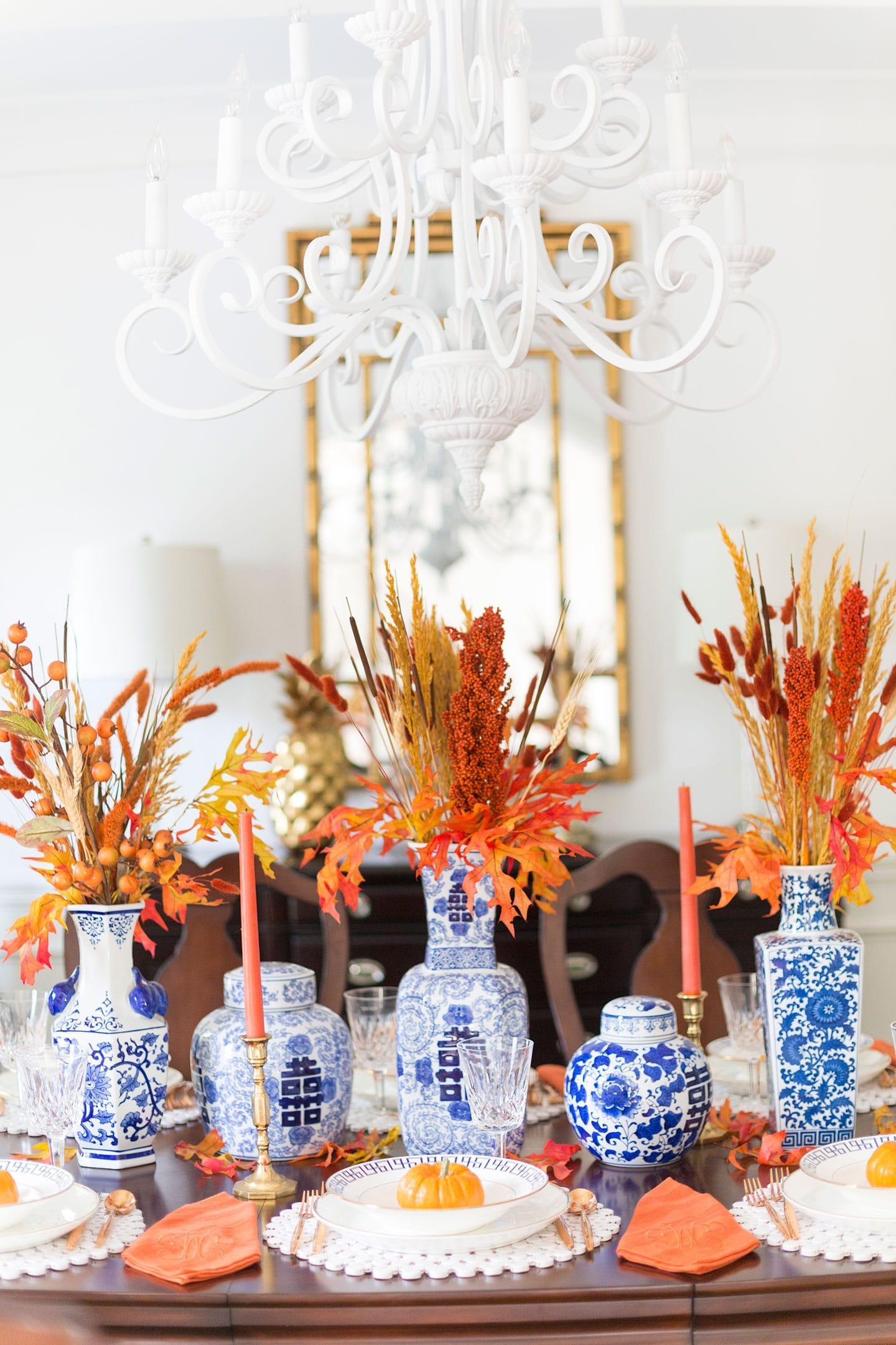 Set a gorgeous fall tablescape!