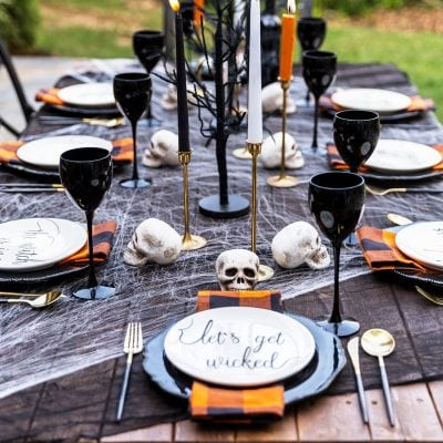 Spooky Adult Halloween Party & Halloween Menu