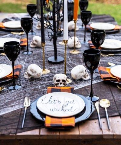 Spooky Adult Halloween Party & Halloween Menu