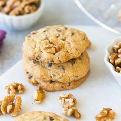 Chocolate Chip Walnut Cookies - Homemade Recipe