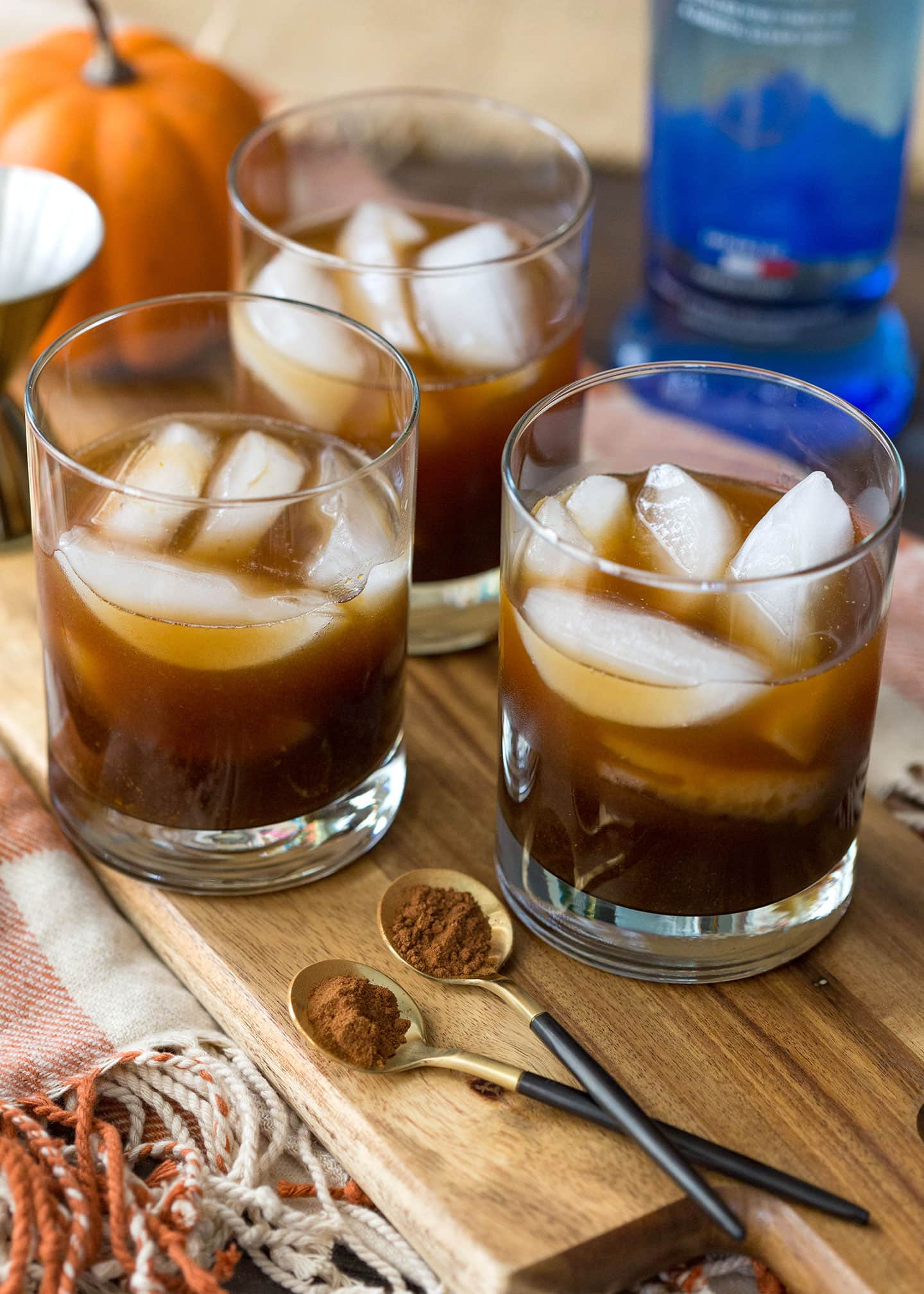 How to make a Pumpkin White Russian