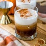 Pumpkin White Russians are the perfect fall drink!