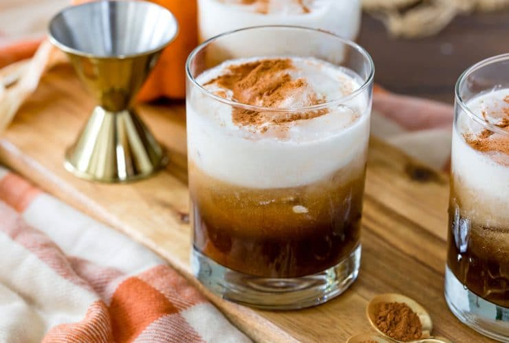 Fall Cocktail: Pumpkin White Russian