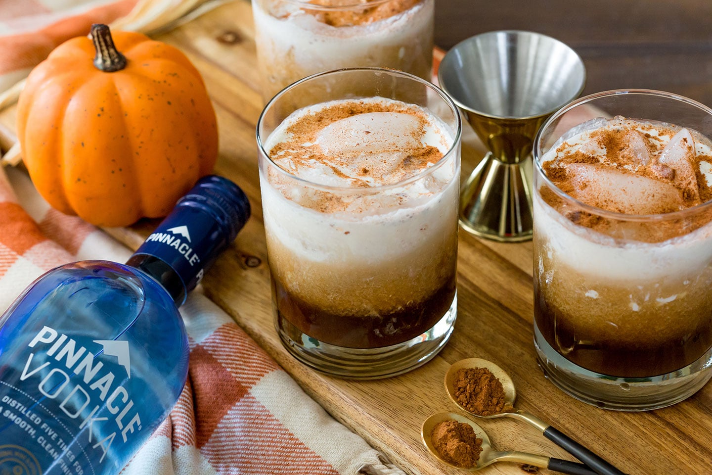Fall Cocktail Pumpkin White Russian is so good!