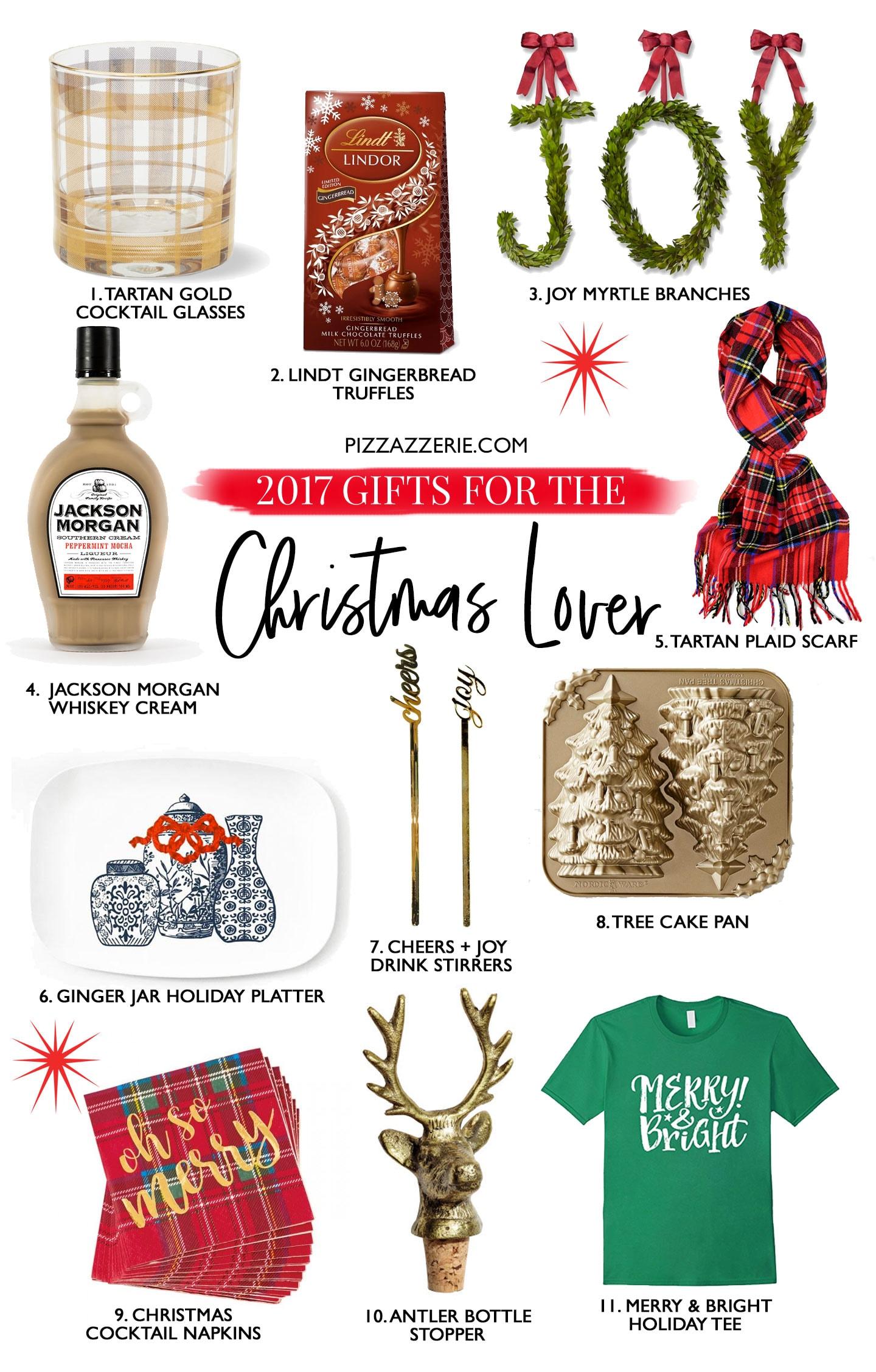 2017 Christmas Lover's Gift Guide