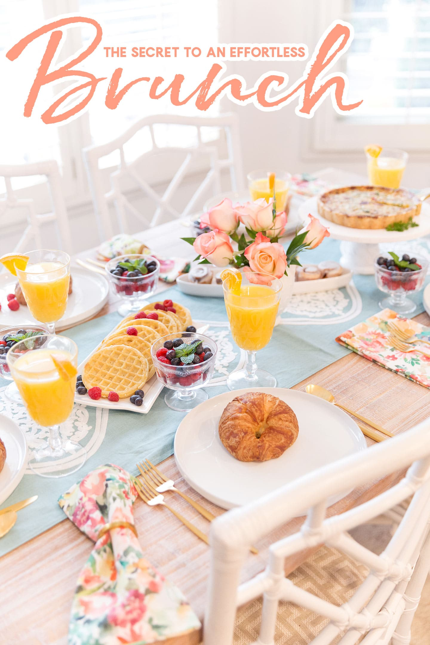 The Secret To Hosting An Effortless Brunch Pizzazzerie