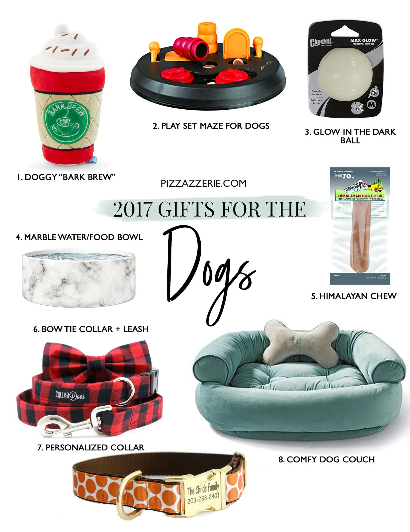 Gift Guide for the Dog Lovers