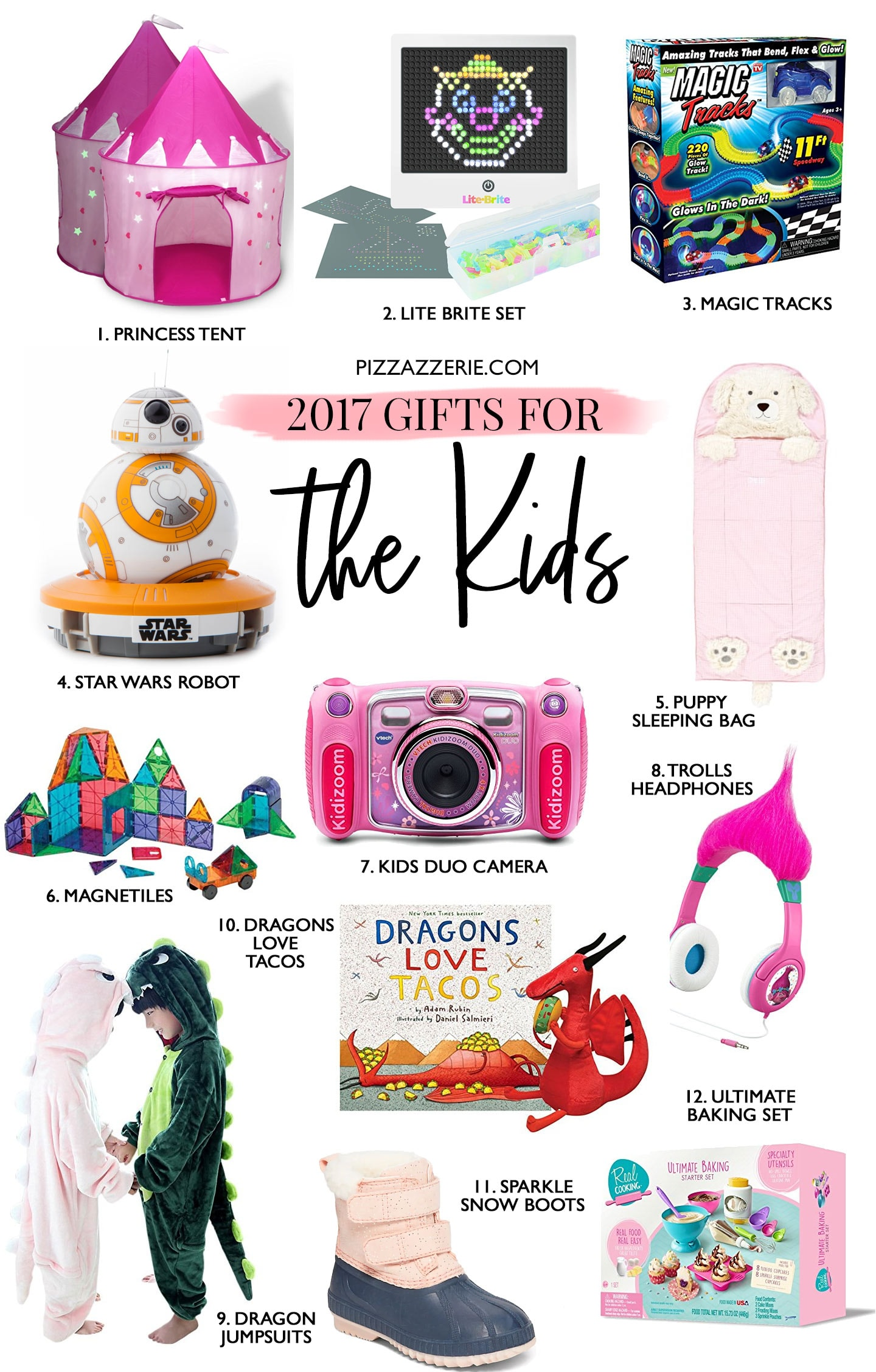 2017 Holiday Gift Guide for Hostess, Christmas, Kids, and Dog