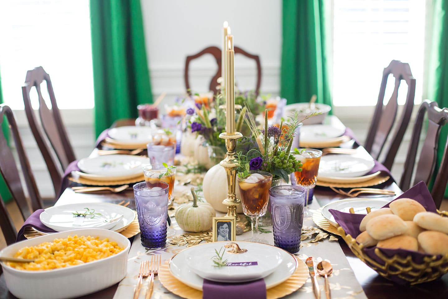 Thanksgiving Tablescape and Traditions