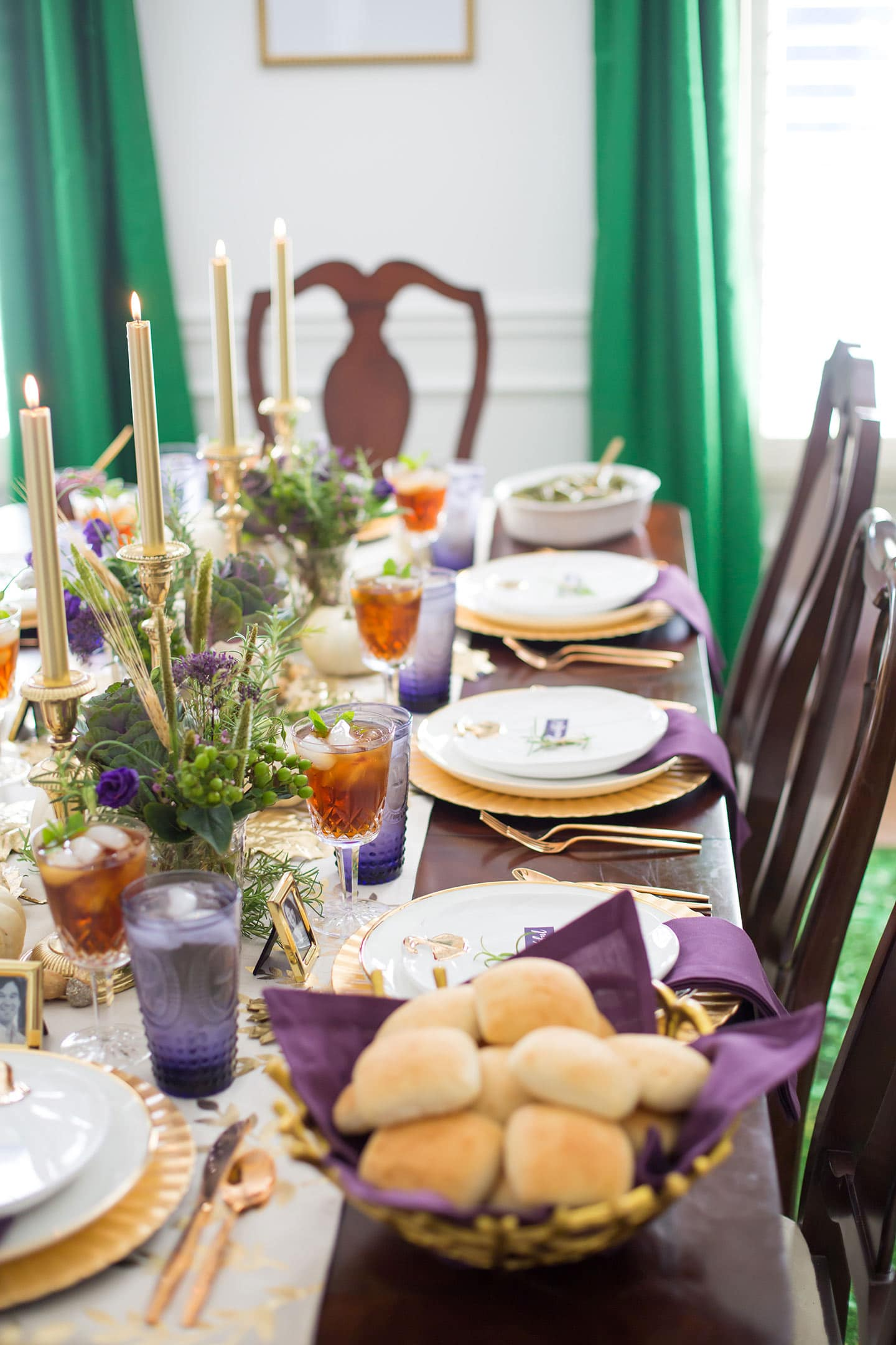 Traditional Thanksgiving Tablescape Ideas