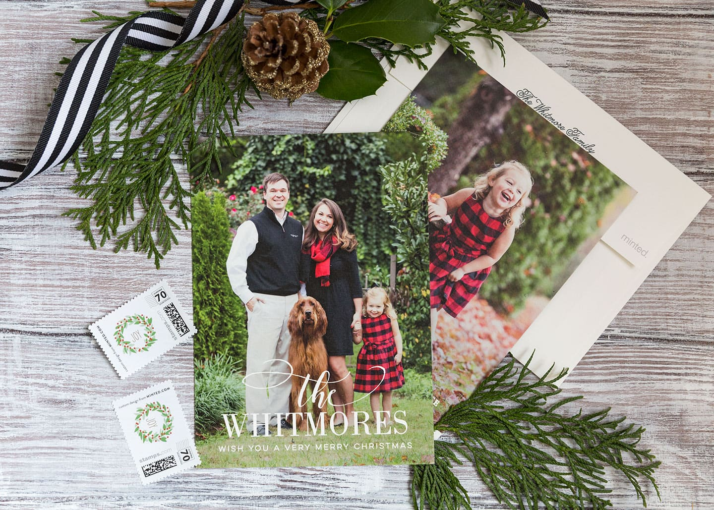 2017 Christmas Cards Courtney Whitmore