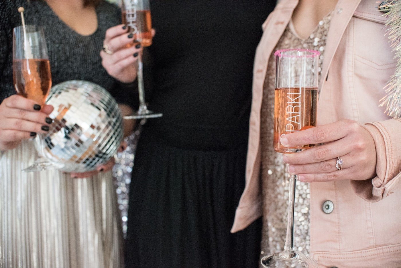 New Year's Eve Rosé Party