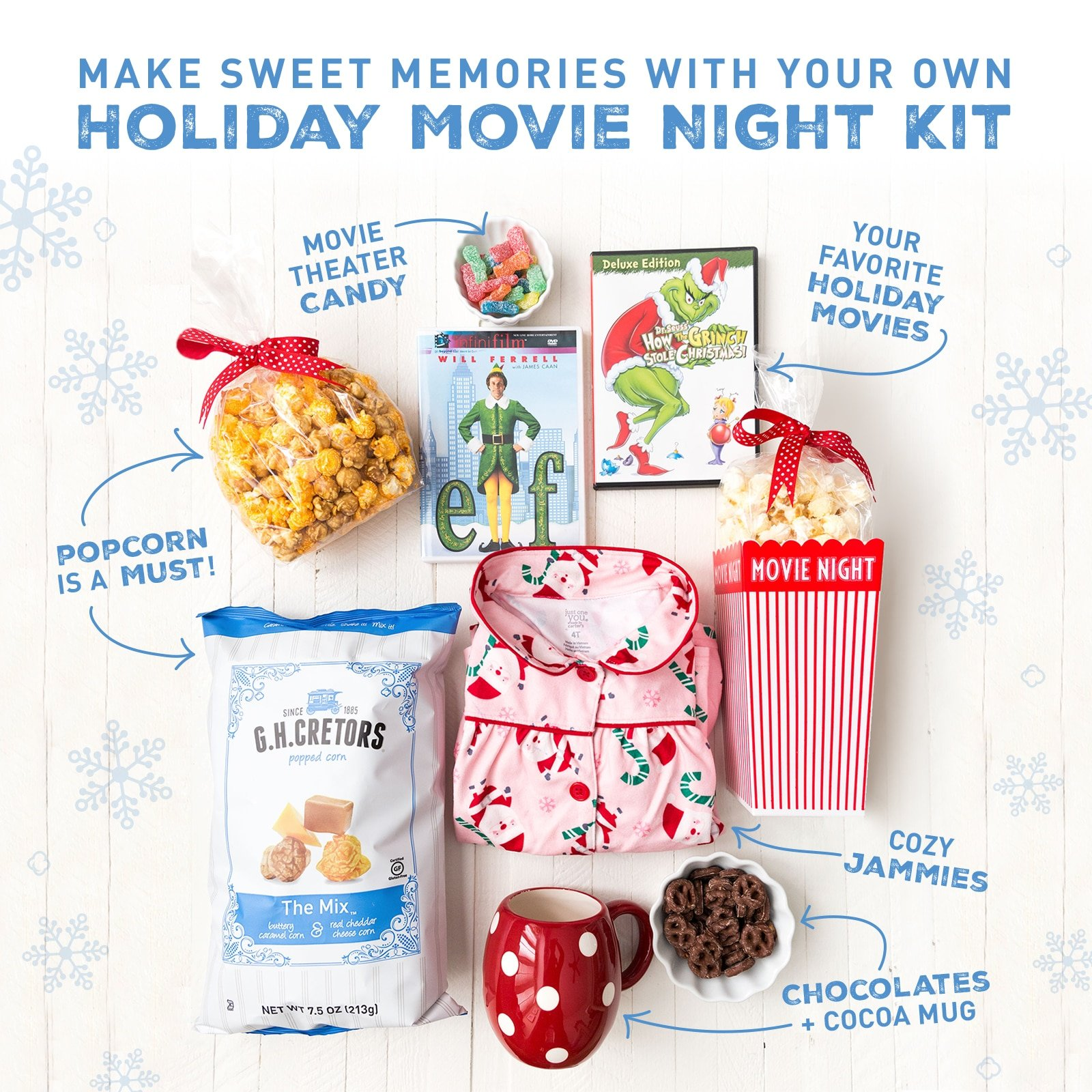 Holiday Movie Night Box Kit