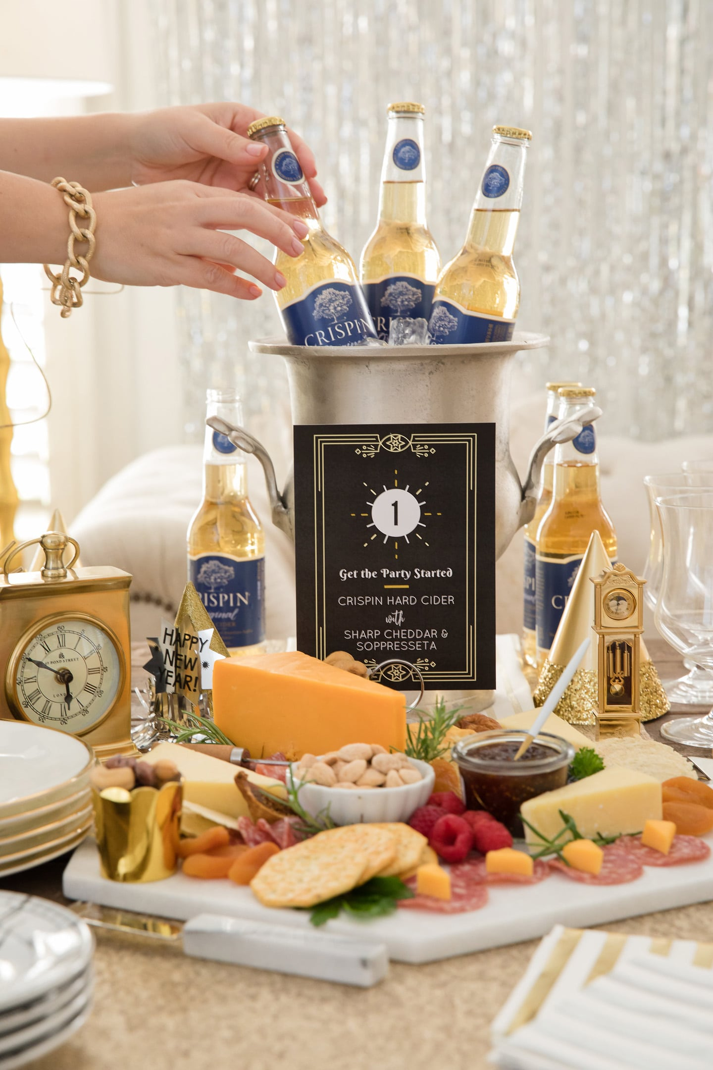 New Year's Eve Food and Beer Pairing Party