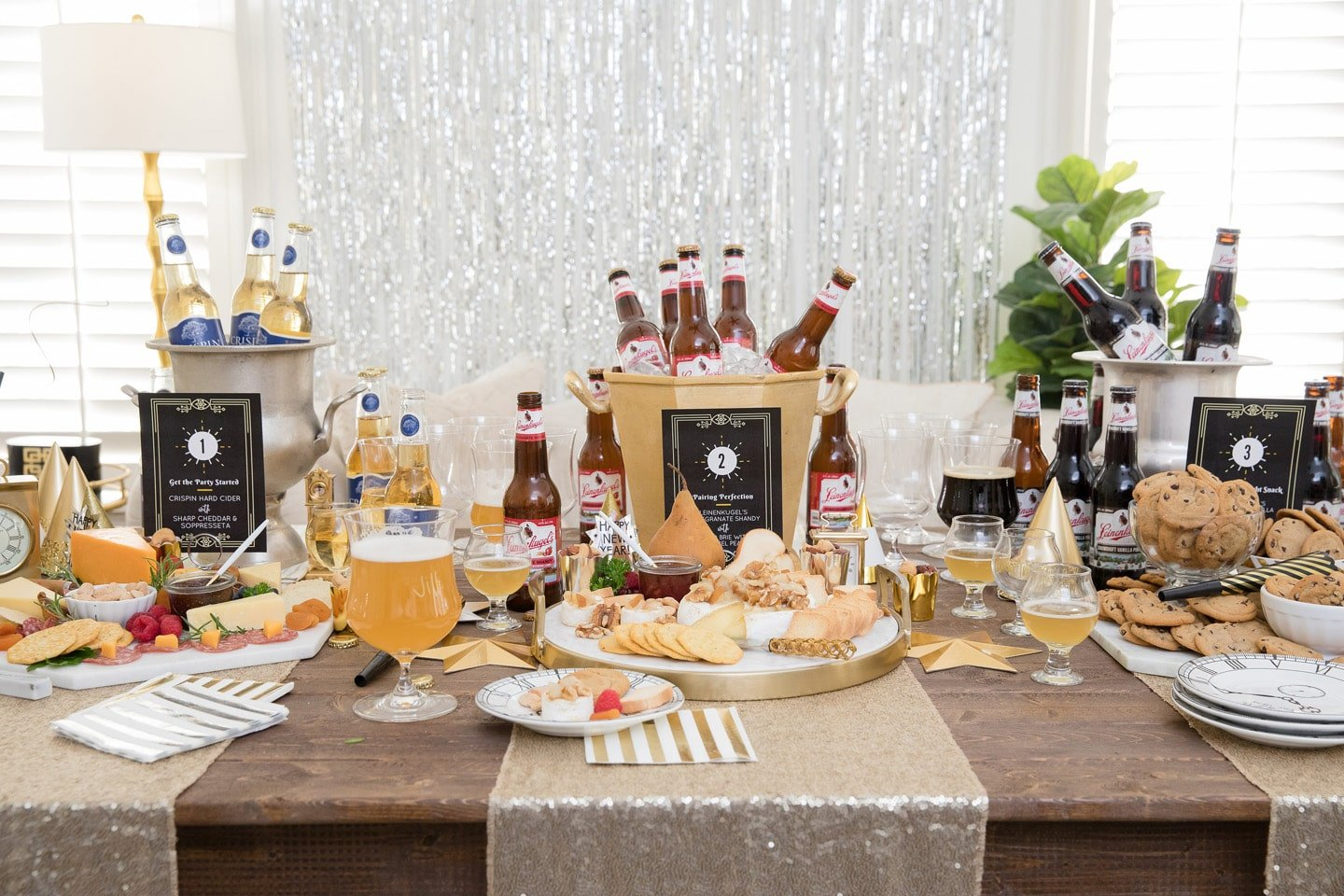 Food and Beer Pairing Party for New Year's Eve!