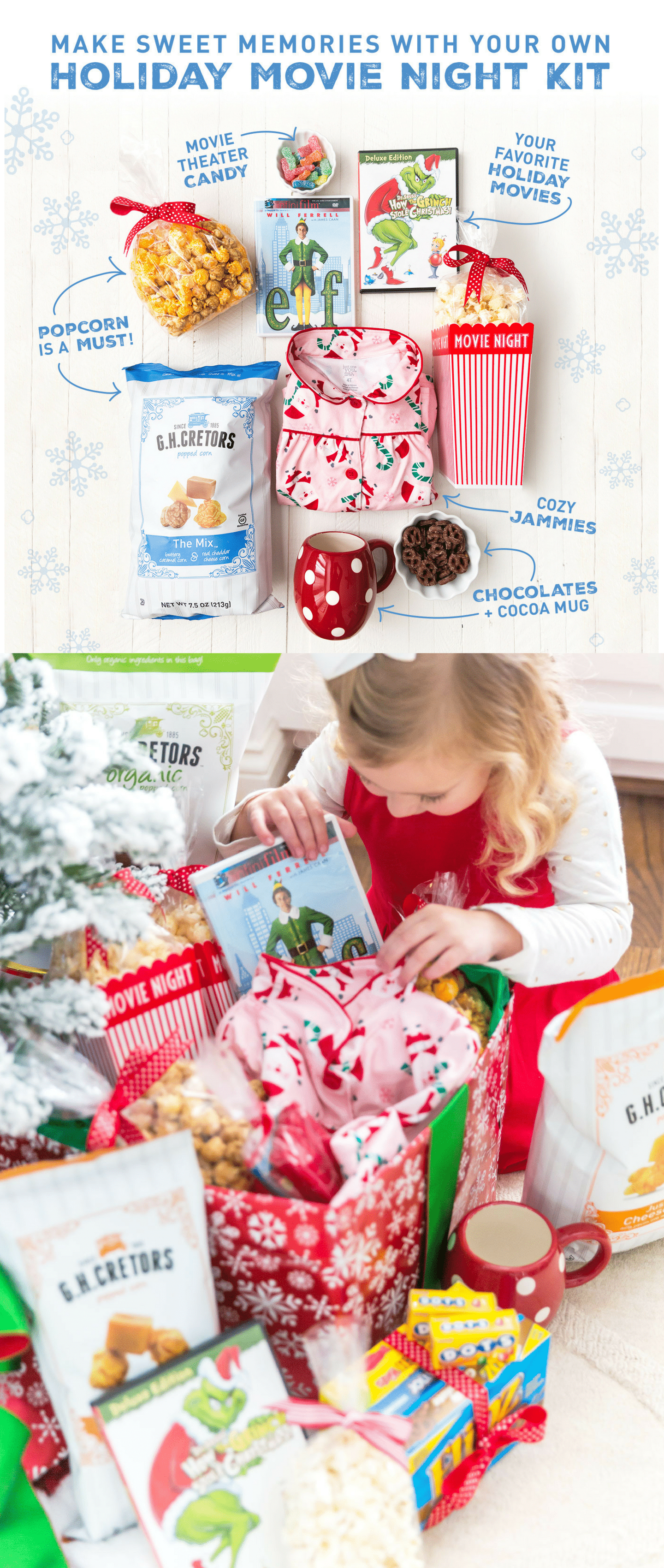 How to create a Holiday Movie Night Box!