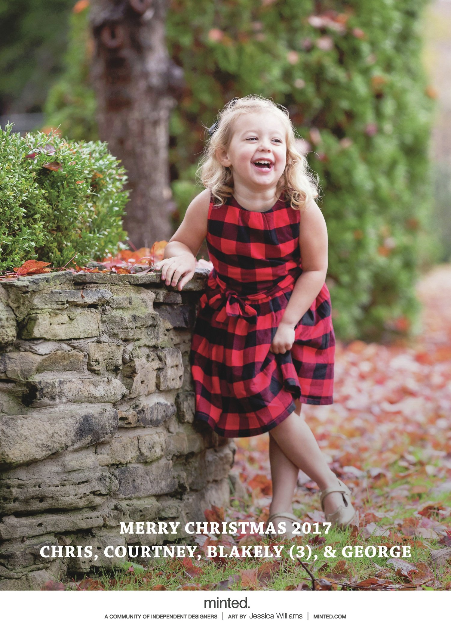 Christmas Card from Minted