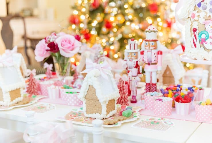 Blakely's 2nd Annual Gingerbread House Tea Party