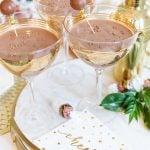 Gingerbread Truffle Martini Recipe