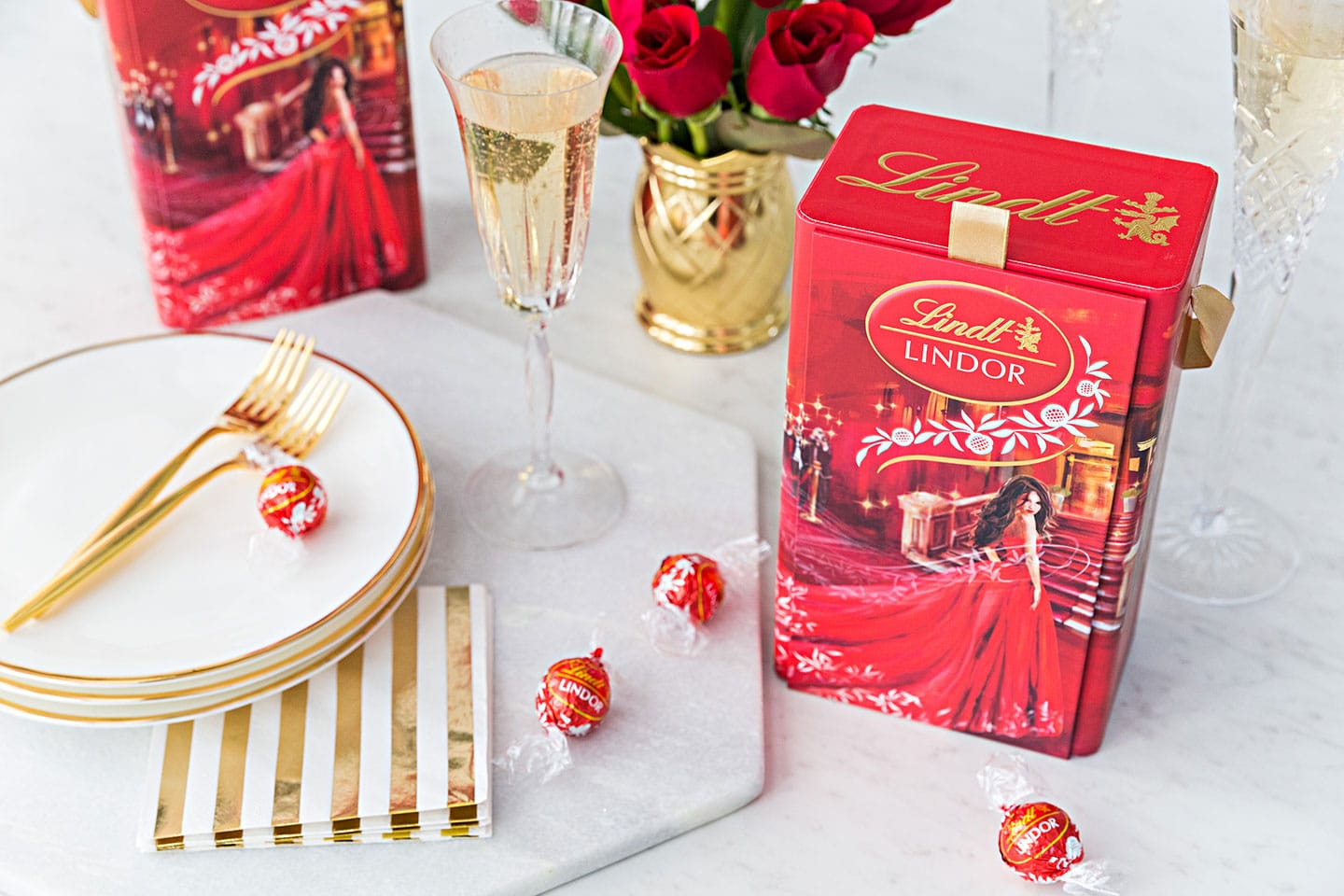 Lindt Chocolate Golden Globes 2018