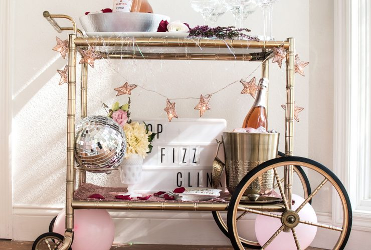 A Sparkly New Year's Eve Rosé Party