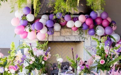 Entertaining with Pantone's Color of the Year: Ultra Violet