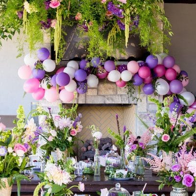 Ultra Violet Garden Fairy Party