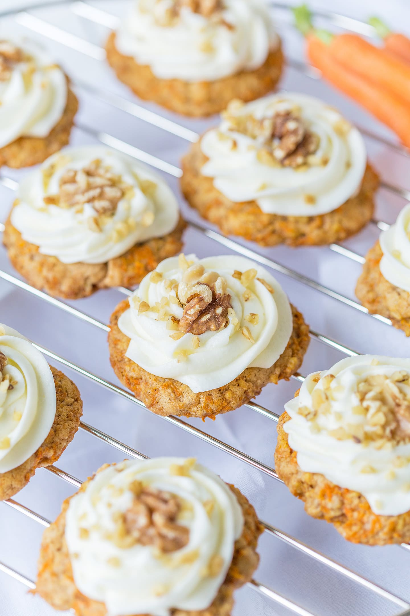 Amazing Carrot Cake Cookies