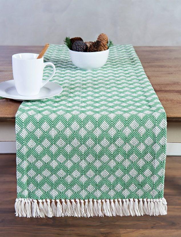 Green table Runner!