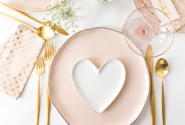 Valentine's Day Tablescape: 3 Ways