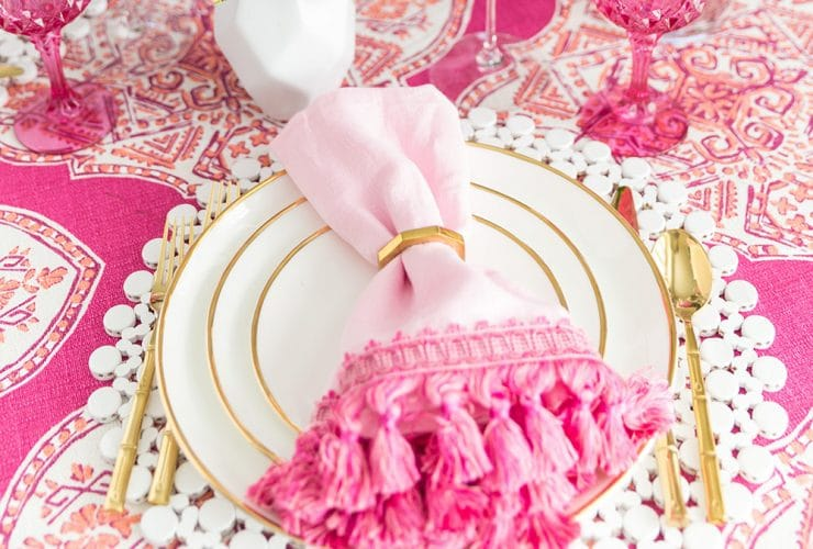 DIY Trimmed Cloth Napkins